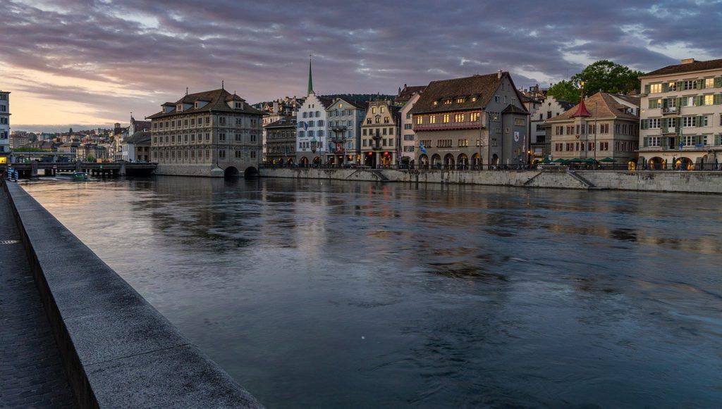 Swiss architectural landscape