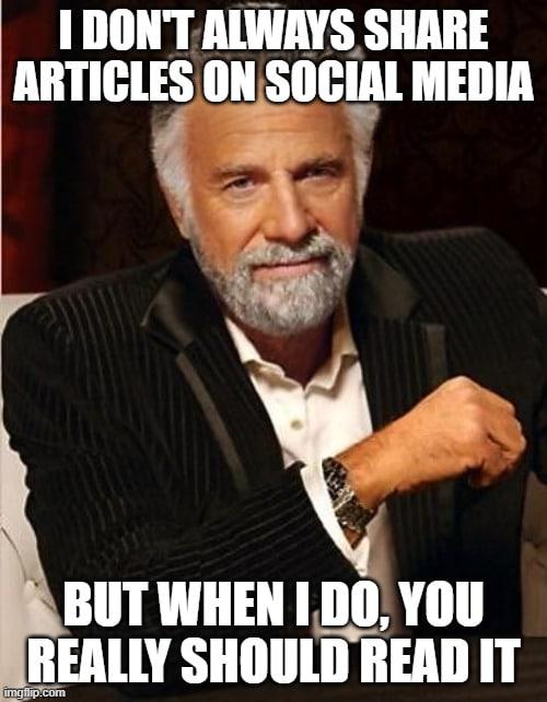 social media sharing meme
