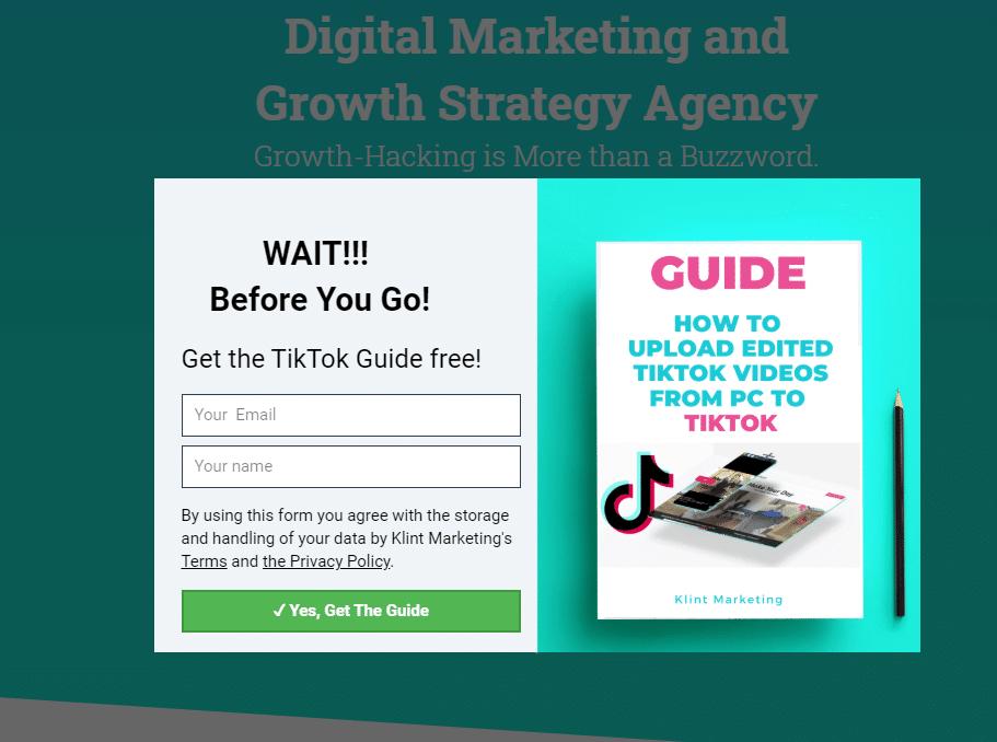 amazing free ebooks from Klint Marketing