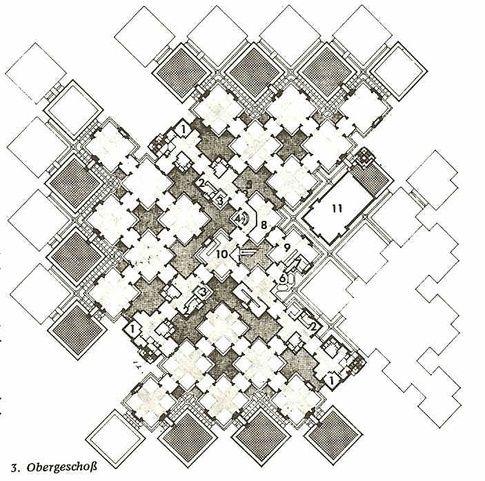 Tartan grid in architecture