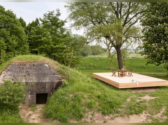 War Bunker refurbishment.