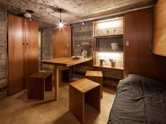 War bunker refurbishment